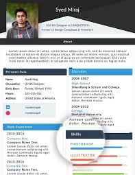 web resume 130 new fashion resume cv templates for free 365 web