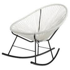 semco outdoor rocking chair white