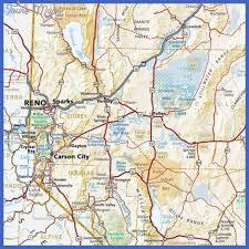 printable map of nevada reno metro map toursmaps