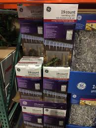 ge led icicle lights costco costco 739754 ge 19 count twinkling led molded icicle lights all