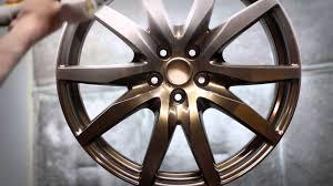nissan gtr matte black gold rims nissan gtr wheels powder coating in bronze youtube