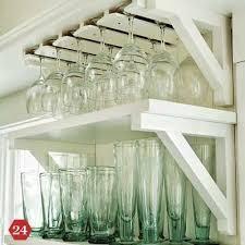 Wine Glass Holder Under Cabinet Best 25 Wine Glass Rack Ideas On Pinterest Wine Glass Holder