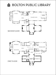floor plan bolton public library