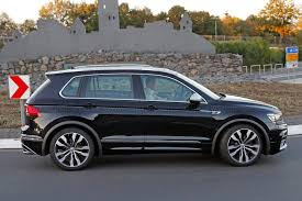 tiguan volkswagen the best all rounder around vw tiguan r spotted by car magazine