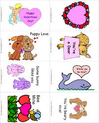 kids valentines cards cards to print