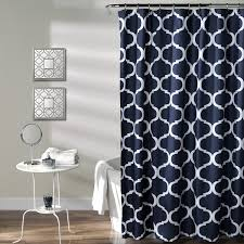Lush Shower Curtains Lush Decor Geo Shower Curtain 72 Inches X 72 Inches
