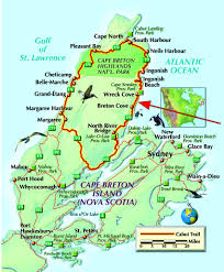 Map Of Nova Scotia Canadian Land For Sale In Ontario Nova Scotia And New Brunswick