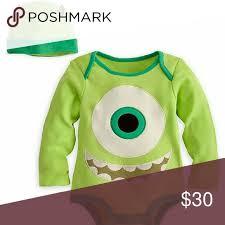 Infant Monsters Halloween Costumes 25 Mike Wazowski Onesie Ideas Monsters