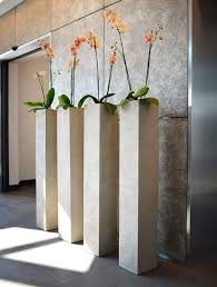 indoor modern planters indoor modern tall planters ways to fill tall planters