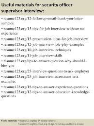 Security Guard Job Resume by Security Resumes Security Officer Resume Best Security Officer
