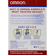 omron 3 series blood pressure monitor 1 0 ct walmart com