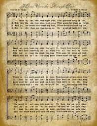 free printable vintage aged vintage christmas carol music