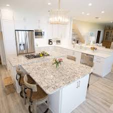 white shaker kitchen cabinets wood floors tim and marguerite cabinet depot