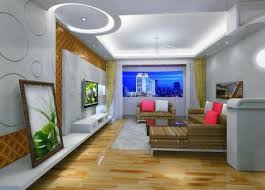 Yellow Drapery False Ceiling Designs For Living Room Cost Stunning Curtains