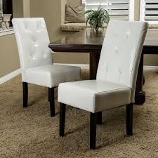 Best Tables N Chairs Images On Pinterest Dining Room Sets - White leather dining room set