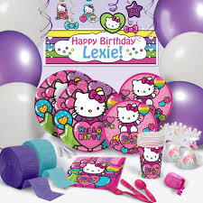 Hello Kitty Party Decorations Hello Kitty Birthday Party Supplies Theme Party Packs