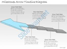 1013 business ppt diagram milestones arrow timeline diagram
