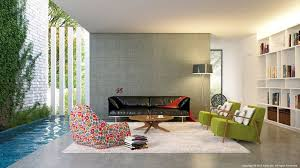 Modern Living Room Designs Complete With Perfect Lighting And - Contemporary living room decoration