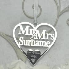 lucky horseshoe gifts mr mrs luck personalised wedding heart bridal gift like