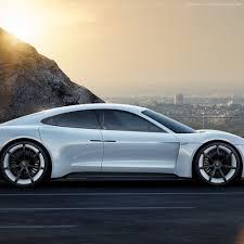 electric porsche mission e wallpaper porsche mission e electric cars supercar 800v white