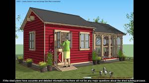 shed plans 12x24 youtube