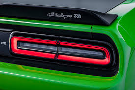 2014 Dodge Charger Tail Lights 2017 Dodge Challenger T A And Charger Daytona Add Retro Flair