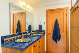 how to design kitchens and bathrooms using mexican talavera tile