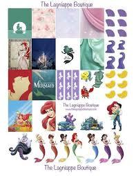disney u0027s mermaid free weekly planner stickers download