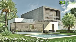 Exterior View Yantram Expert In Design For Commercial Building Night View With