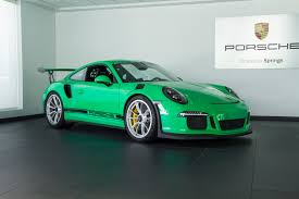 porsche 911 gt3 rs green 2016 porsche 911 gt3 rs for sale in colorado springs co c124
