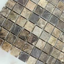 Stone Tiles Mosaic Tile Sheet Kitchen Backsplash Wall Sticker - Backsplash stone tile