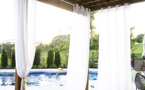 Long Drapery Panels Curtains Outdoor Patio Curtain Panels Amazing Patio Curtains