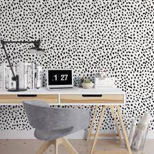 removable wallpaper uk dalmatian removable wallpaper cute self adhesive wallpaper