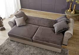 sofa mit bettkasten und schlaffunktion sofa sofas 256x106x74 cm landhausstil