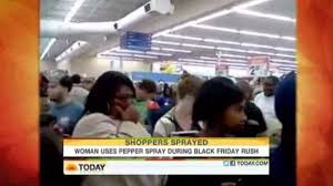 walmart black friday xbox 360 black friday madness woman pepper sprays shoppers to grab an xbox