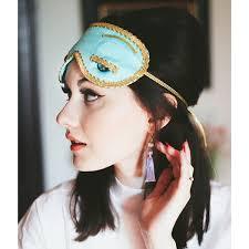 hepburn earrings breakfast at s sleep eye mask earrings set