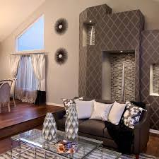 Brown Accent Wall by Living Room Amazing Accent Walls Interior Design Painting With