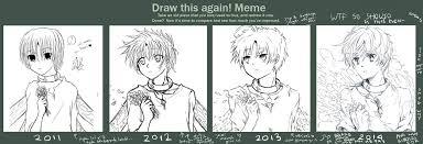Draw This Again Meme Template - draw this again meme again 3x im not gonna stop yo by rheamii on