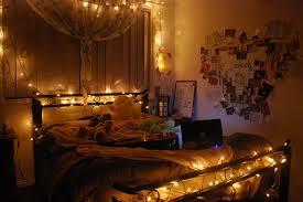fairy lights room inspiration decoration on bedroom design ideas