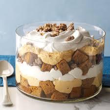 pumpkin mousse trifle recipe taste of home
