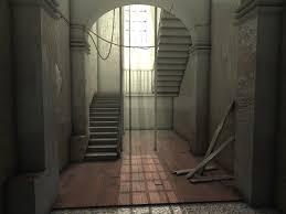 haunted hallway lighting challenge by dangqi on deviantart