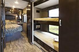 Half Bunk Bed Rv With Bunk Beds And Bath And A Half Mens Bedroom Interior