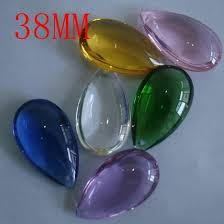 Chandelier Parts Crystal Wholesale Price 120pcs Lot 38mm Crystal Tear Drop Pendant For