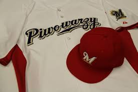 heritage uniforms and jerseys brewers to wear polish inspired piwowarzy jersey this coming