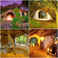ecological design hobbit house about