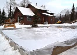 Build A Backyard Ice Rink Icy Challenges U0026 Warm Friends Letters From Alaska