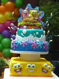spongebob birthday cakes 12 spongebob cakes for weddings photo spongebob wedding cake