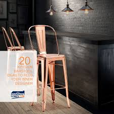 kitchen bar stool ideas feed your inner designer with 20 kitchen barstool ideas