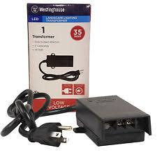 Led Landscape Lighting Transformer Westinghouse 35 Watt Led Low Voltage Landscape Lighting