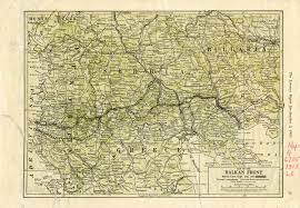 Map Of Balkans The War In The Balkans And The Middle East Olin U0026 Uris Libraries